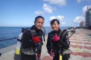 2018.08.19 砂辺ビーチ 体験ダイビングコース