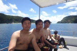 2018.08.30 慶良間ボート ファンダイビング
