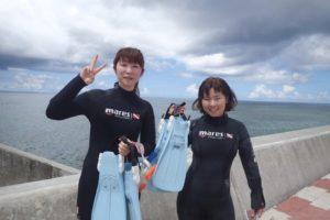 2018.09.01 砂辺ビーチ 体験ダイビングコース