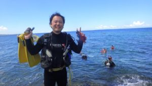 2018.09.02 砂辺ビーチ PSD→OWDステップアップ講習
