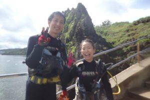 2018.09.08 真栄田岬ビーチ 体験ダイビングコース