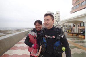 2018.11.03 砂辺ビーチ ファンダイビング