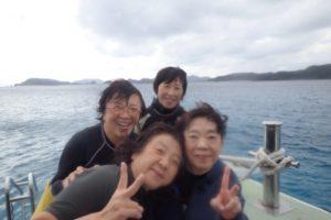2018.11.23 慶良間ボート 体験&付き添いファンダイビング