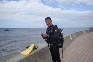 2018.11.25 砂辺ビーチ ファンダイビング