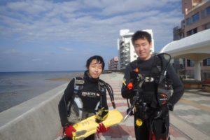 2018.12.01 砂辺ビーチ 体験ダイビング&付き添いダイビング