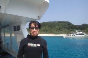2019.03.13 慶良間ボート 体験ダイビング