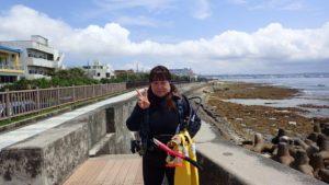 2019.05.19 砂辺ビーチ ファンダイビング