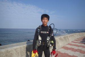 2019.08.12 砂辺ビーチ ファンダイビング