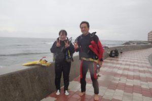 2019.10.20 砂辺ビーチ ファンダイビング