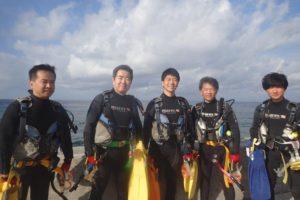 2019.10.27 砂辺ビーチ OWDコース