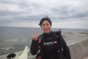 2019.10.30 砂辺ビーチ ファンダイビング