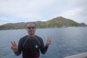 2019.11.24 渡名喜島遠征ボート ファンダイビング