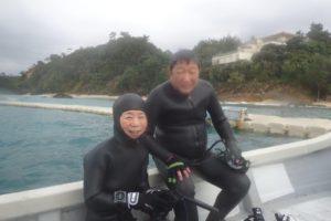 2019.12.31 大浦湾ボート ファンダイビング