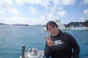2020.01.05 慶良間ボート ファンダイビング