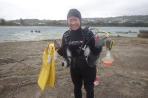 2020.04.01 奥武島ビーチ 体験ダイビングコース