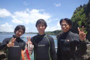 2020.07.11 真栄田岬ビーチ 体験ダイビングコース
