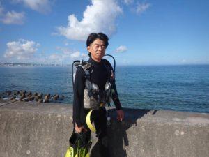 2020.08.07 砂辺ビーチ ファンダイビング