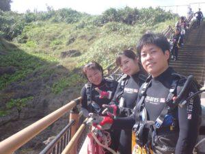 2020.09.20 奥武島ビーチ OWDコース&ファンダイビング