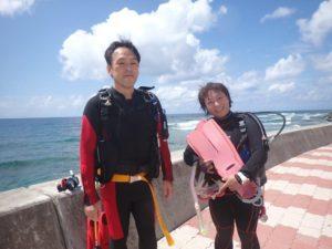 2020.09.25 砂辺ビーチ ファンダイビング