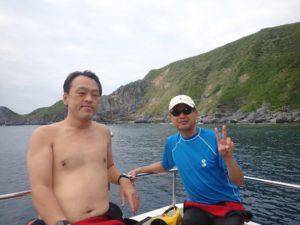 2020.10.11 渡名喜島遠征 ファンダイビング