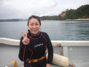2020.11.24 大浦湾ボート ファンダイビング