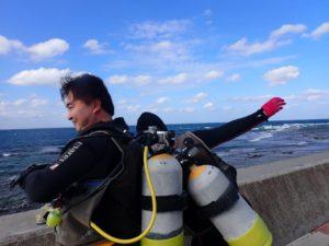 2020.12.12 砂辺ビーチ ファンダイビング